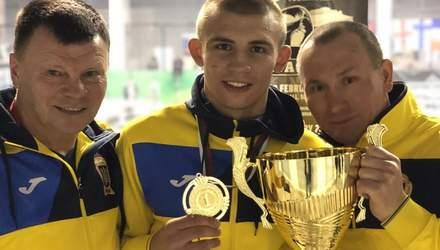 Український боксер Олександр Хижняк здобув золото на міжнародному турнірі в Болгарії