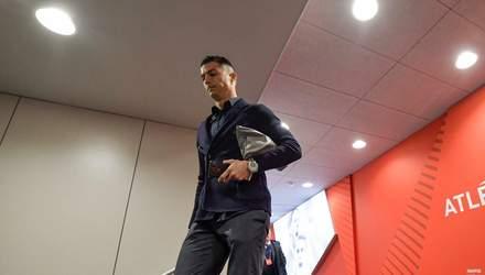 """Роналду неоднозначно відреагував на поразку в Лізі чемпіонів від """"Атлетіко"""""""