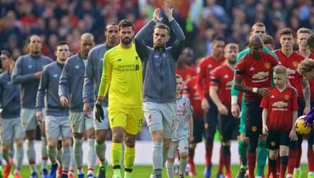 """""""Манчестер Юнайтед"""" отобрал важные очки у """"Ливерпуля"""": видео"""