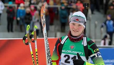 Українська біатлоністка виграла незвичну гонку на Альпійському кубку