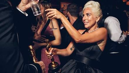 Розмиті селфі, щирі усмішки і міцні обійми: з'явились перші знімки з after party Оскара-2019