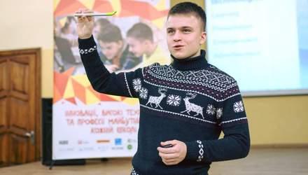Українець розробив унікальну технологію, яка перетворює будь-яку поверхню на сенсорну