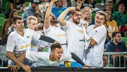 Збірна України з баскетболу – у топ-20 світового рейтингу