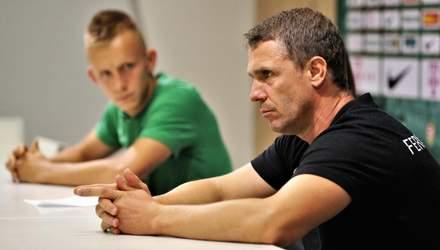 Ребров порівняв УПЛ з угорською лігою: Тут я спокійно працюю, не відчуваю тиску