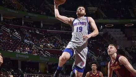 """Михайлюк допоміг """"Детройту"""" обіграти """"Клівленд"""" у матчі НБА: відео"""