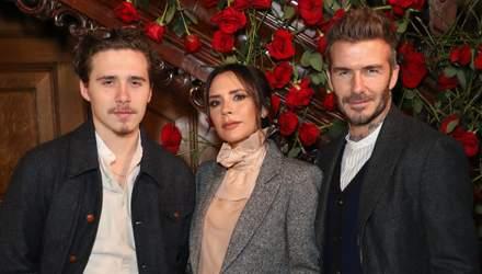 Девід і Вікторія Бекхеми зворушливо привітали сина Брукліна з 20-річчям