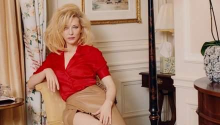 Кейт Бланшетт стала звездой глянца и дала откровенное интервью Джулии Робертс: винтажные фото