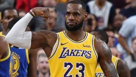Леброн Джеймс обійшов Майкла Джордана у рейтингу найкращих снаперів НБА: фото