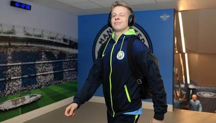"""Зінченко став гравцем місяця у """"Манчестер Сіті"""" й випередив зіркових футболістів: відео"""