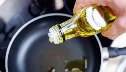На якій олії можна смажити: відповідь дієтолога