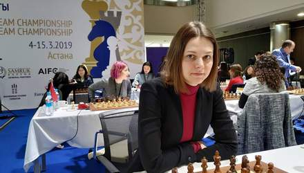 Сборная Украины по шахматам не смогла завоевать серебряные награды чемпионата мира