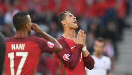 Збірна Португалії назвала склад на матч з Україною