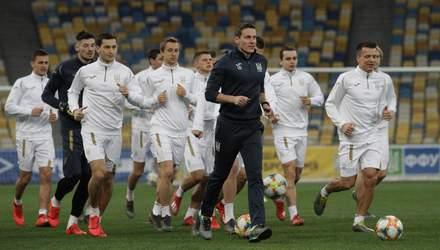 Португалія – Україна: стартові склади на матч відбору до Євро-2020