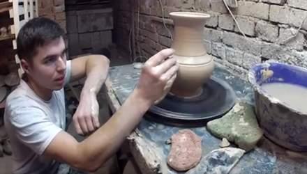 Антон Микитюк – гончар з Прикарпаття, який відроджує традиції покутської кераміки
