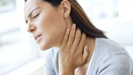 Чому болить горло: шість причин