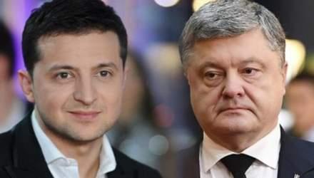 Дебати між Порошенком та Зеленським: що означають заяви кандидатів
