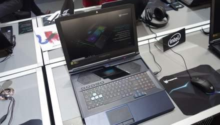 Acer выпустила оригинальный ноутбук, который оценят геймеры