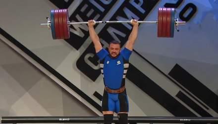 Украинец Дмитрий Чумак завоевал три золота на чемпионате Европы по тяжелой атлетике
