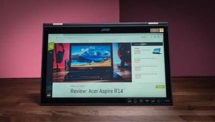 Acer оновила ноутбук-трансформер Spin 3: характеристики та ціна в Україні