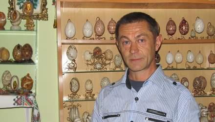 """Анатолій Бойко – """"волинський Фаберже"""", який перетворює звичайні яйця на витвори мистецтва"""