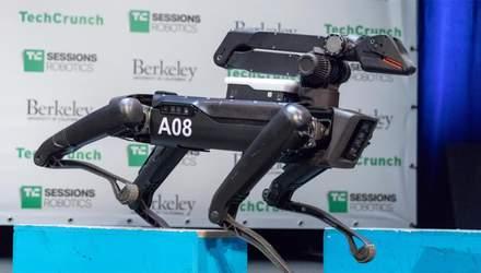 """На що здатна """"упряжка"""" чотириногих роботів Spot: захоплююче відео"""