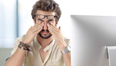 Три типи болю в очах і про що це свідчить