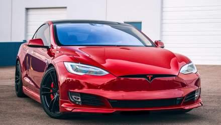 Tesla Model S взорвалась на одной из парковок Шанхая