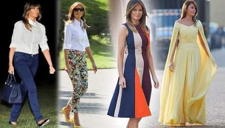 Первая модница страны: как изменился стиль Мелании Трамп после выборов в США