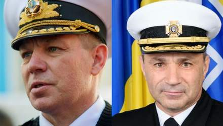 Як змінилося командування ВМС України за останні три роки
