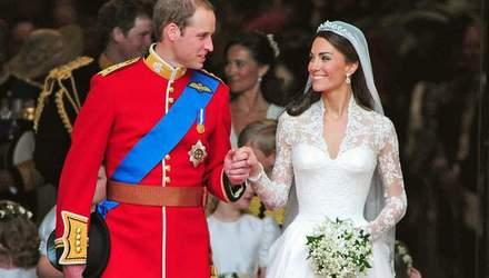 Принц Вільям та Кейт Міддлтон поділились чарівними світлинами зі свого весілля
