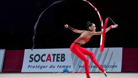 Сборная Украины завоевала 4 медали на этапе Кубка мира по художественной гимнастике: видео