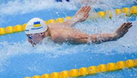 Украинец Говоров выиграл бронзу в Лиге чемпионов по плаванию