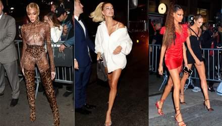 Как звезды развлекались на вечеринке Met Gala 2019: лучшие after party образы