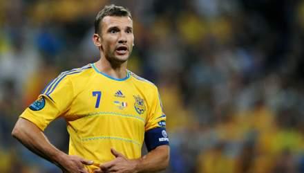Андрей Шевченко попал в число лучших футболистов за последние 25 лет