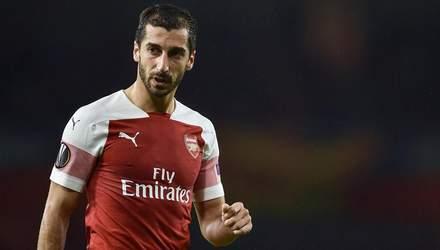 """Мхітарян може не зіграти за """"Арсенал"""" у фіналі Ліги Європи в Баку через політичні рішення"""