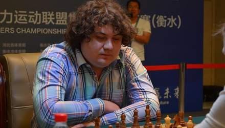 Українські спортсмени вибороли золоту та бронзову нагороду на змаганнях з шахів