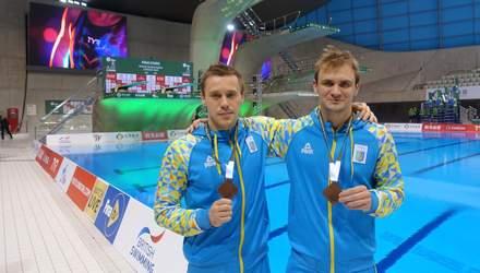 Украинцы завоевали бронзовые медали на турнире по синхронным прыжкам с трамплина