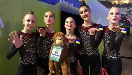 Украинские гимнастки завоевали историческую медаль на чемпионате Европы: видео