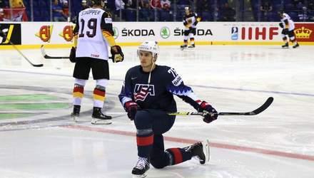 Збірна США з хокею вирвала перемогу в Німеччини, Чехія розбила Австрію: відео