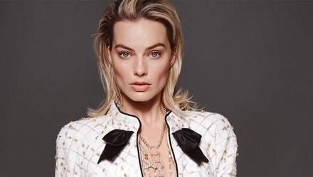 Марго Робби стала новым лицом ароматов Chanel