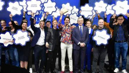 Французы назвали украинскую команду самым инновационным стартапом