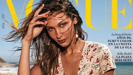 Белла Хадид стала звездой испанского Vogue: соблазнительные фото