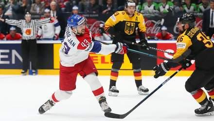 Финны в овертайме победили чемпионов мира, Чехия разгромила Германию в 1/4 ЧМ по хоккею