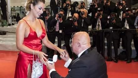 Покликати заміж на Каннському кінофестивалі: як 63-річний мільйонер освідчився 25-річній дівчині