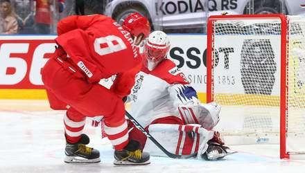 Россия победила Чехию в борьбе за третье место на ЧМ по хоккею