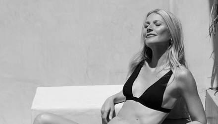 46-річна Гвінет Пелтроу знялася у рекламі купальників власної компанії
