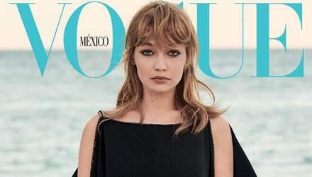 Как Брижит Бардо: модель Джиджи Хадид повторила легендарный образ для Vogue Mexico