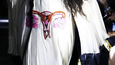 Вишивка зі статевими органами: бренд Gucci проти законів про заборону абортів в США