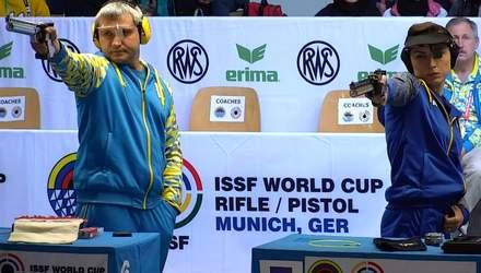 Украинские лучники завоевали серебряные медали Кубка мира