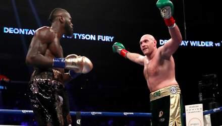 Уайлдер та Ф'юрі домовилися про найочікуваніший реванш у боксі: дата бою